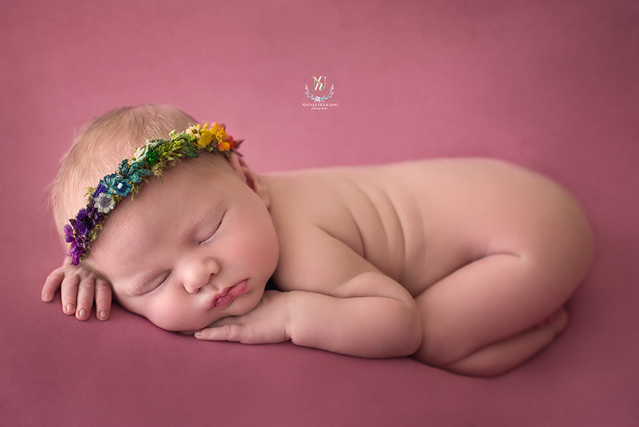 Ruby – Canberra professional studio Newborn Photography