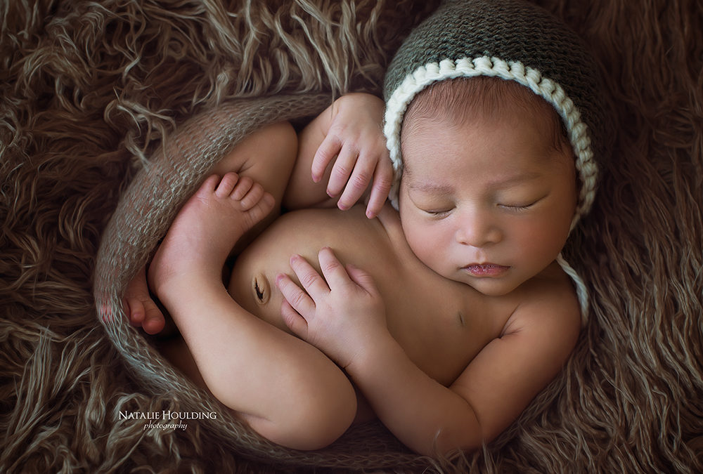 Micah – Canberra professional studio Newborn Photography