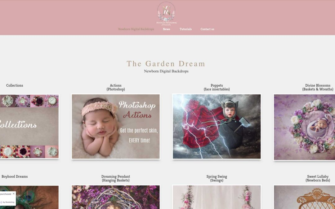 Newborn Digital Backdrops have new website